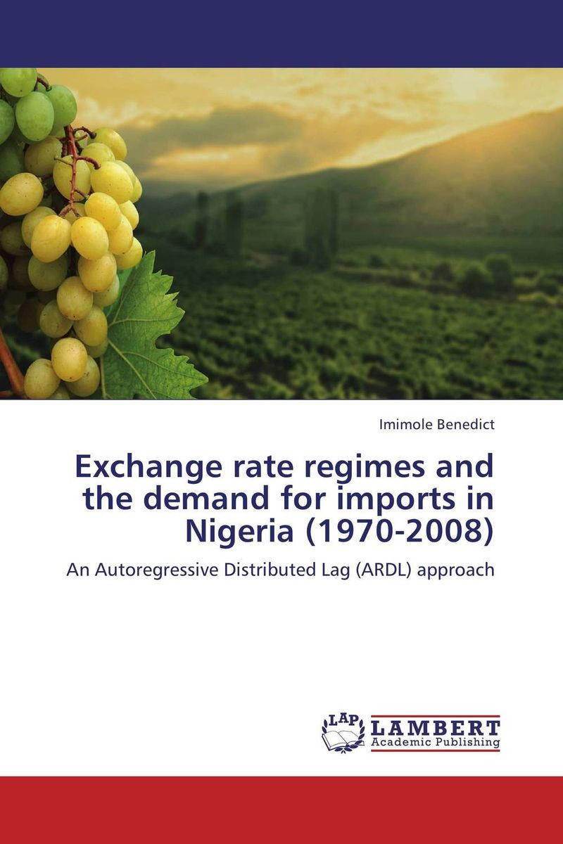 Exchange rate regimes and the demand for imports in Nigeria (1970-2008) ali issa estimating the demand for money in libya an application of the lagrange multiplier structural break unit root test and the ardl cointegration approach
