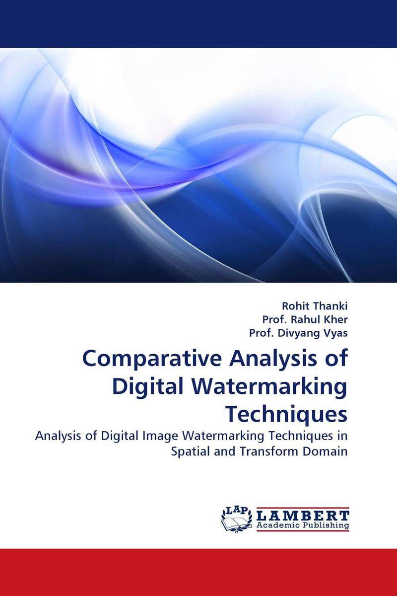 Comparative Analysis of Digital Watermarking Techniques amrinder singh brar mandeep kaur and sumandeep kaur medical image watermarking