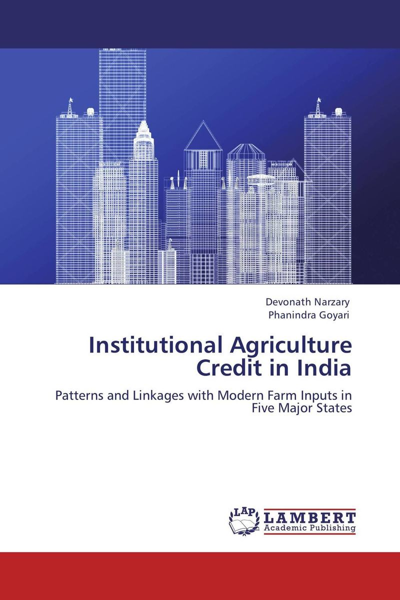 Institutional Agriculture Credit in India jaynal ud din ahmed and mohd abdul rashid institutional finance for micro and small entreprises in india