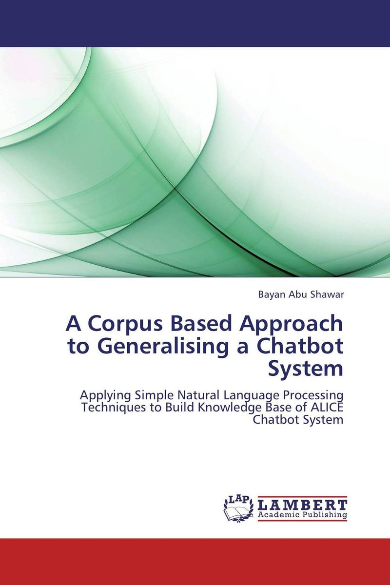 A Corpus Based Approach to Generalising a Chatbot System key based text watermarking of e text documents using z axis