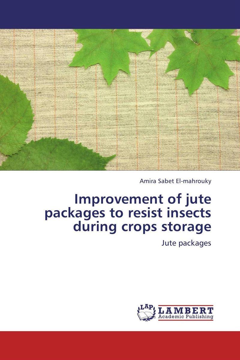Improvement of jute packages to resist insects during crops storage devices for detection and management of stored grain insects