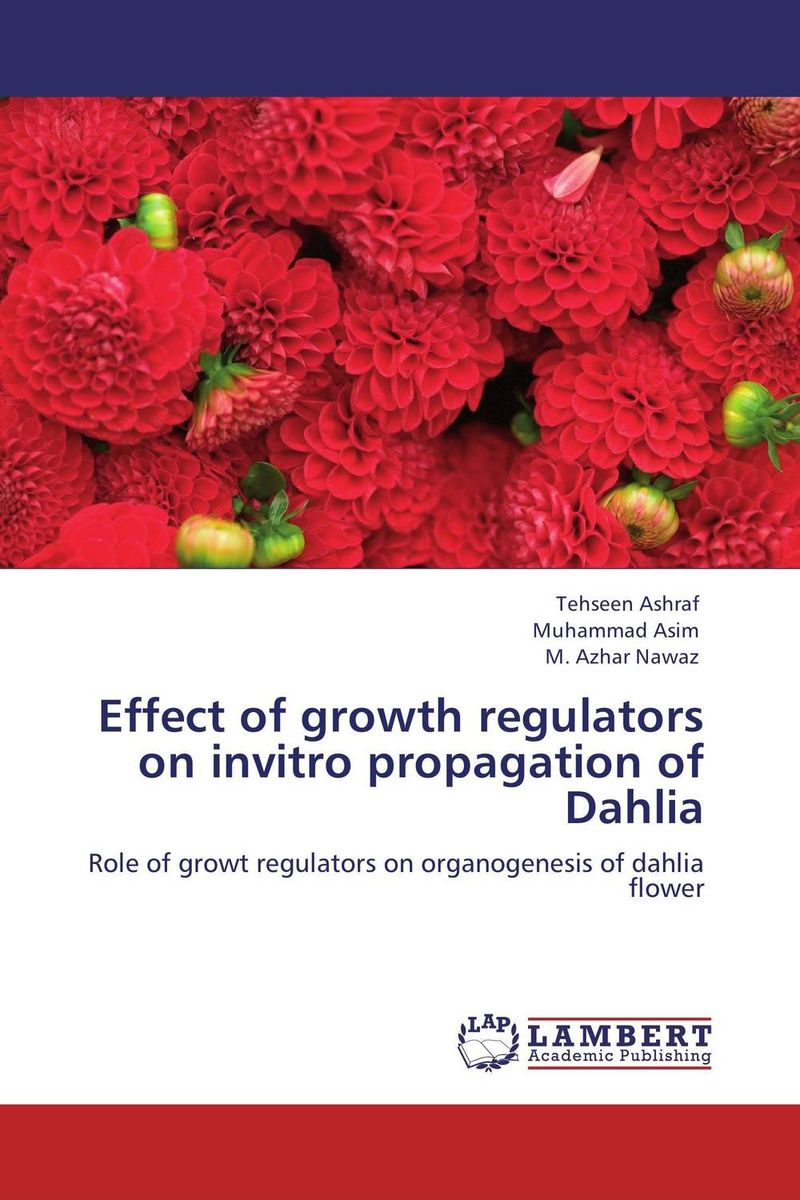 Effect of growth regulators on invitro propagation of Dahlia effect of beta carotene on growth and color of pterophyllum scalare