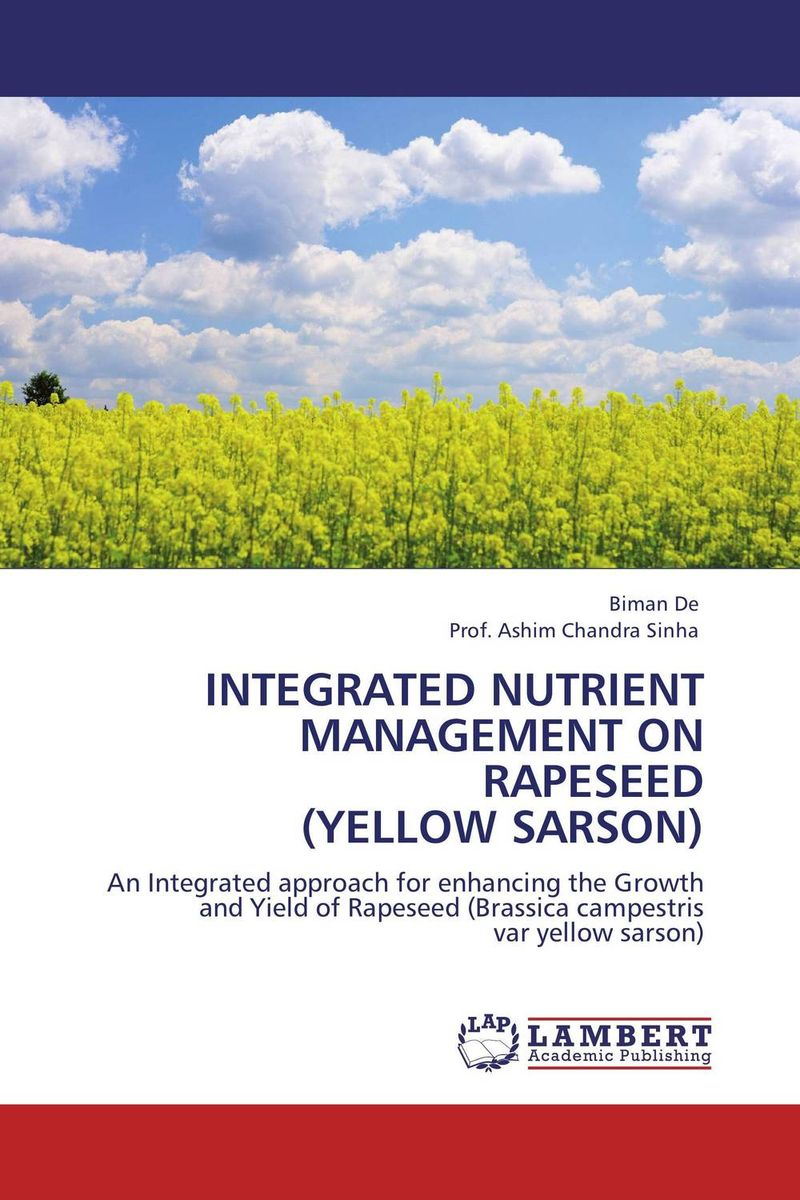 INTEGRATED NUTRIENT MANAGEMENT ON RAPESEED (YELLOW SARSON) pastoralism and agriculture pennar basin india