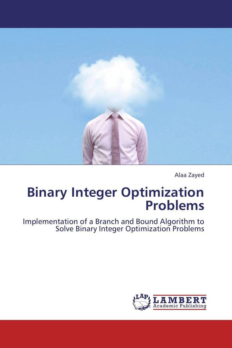 Binary Integer Optimization Problems optimization of hydro generation scheduling
