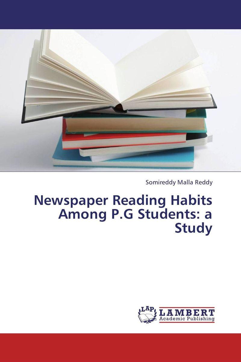 Newspaper Reading Habits Among P.G Students: a Study
