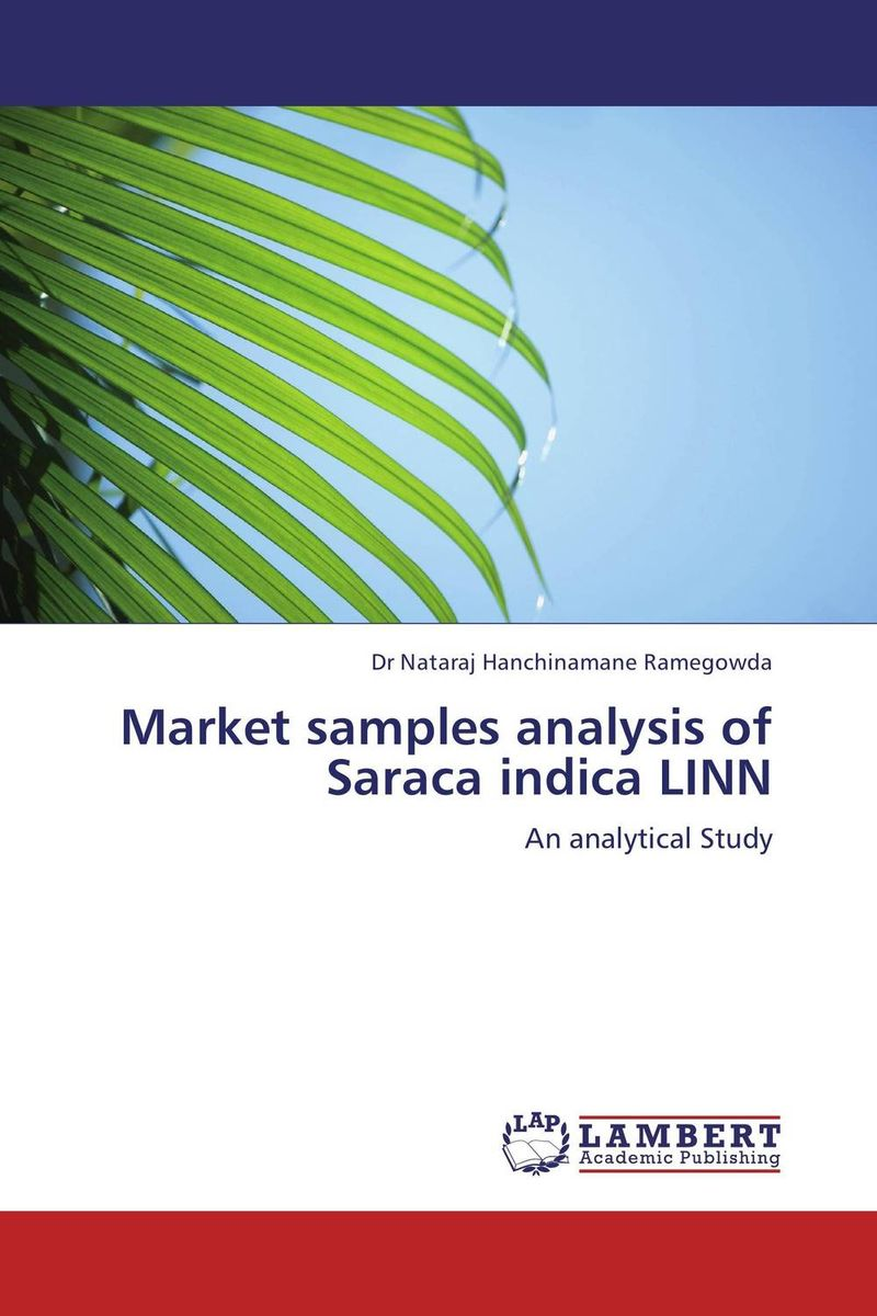 Market samples analysis of Saraca indica LINN pharmacological and toxicological investigations of saraca indica