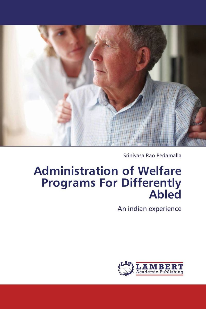 Administration of Welfare Programs For Differently Abled women welfare programmes