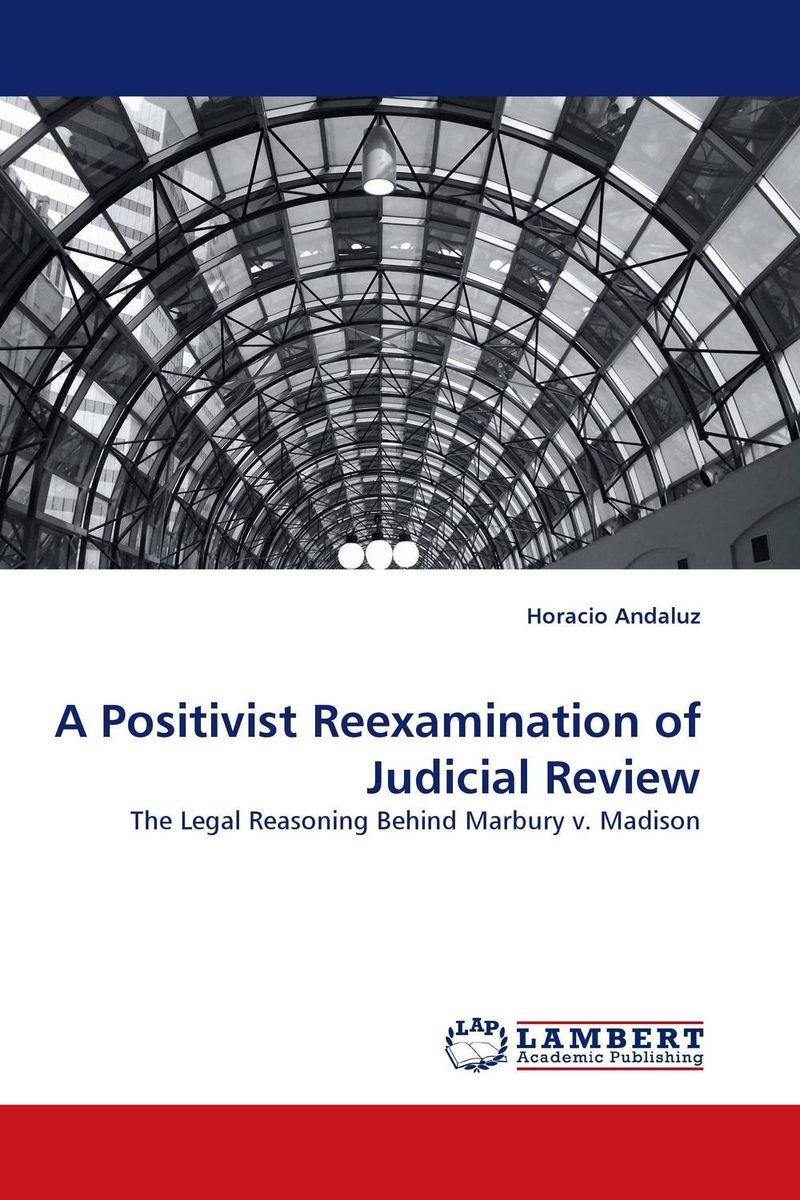 A Positivist Reexamination of Judicial Review