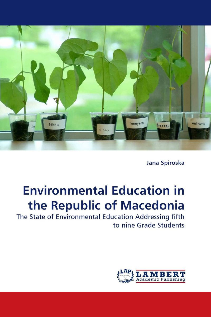 Environmental Education in the Republic of Macedonia the waters in the republic of macedonia as a business ecosystem