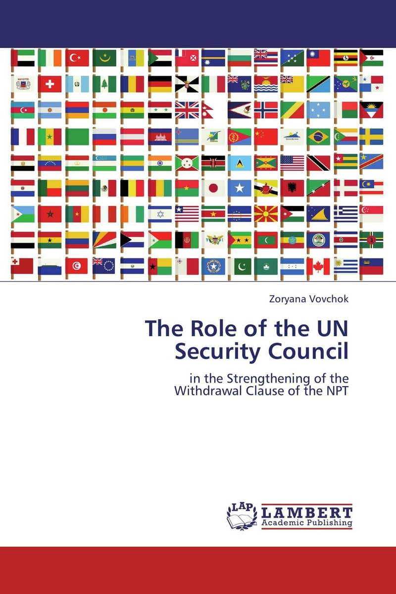 The Role of the UN  Security Council the role of legal feeling in the criminal legislation