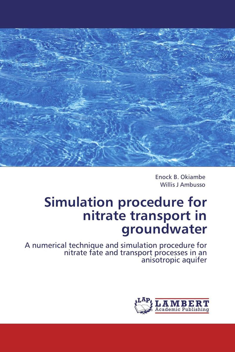 Simulation procedure for nitrate transport in groundwater simulation of atm using elliptic curve cryptography in matlab