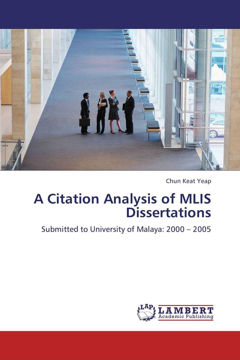 A CITATION ANALYSIS OF MLIS DISSERTATIONS смартфон digma hit q500 3g ht5035pg gold spreadtrum sc7731c 1 3 8 gb 1 gb 5 854x480 dualsim 3g bt android 7 0