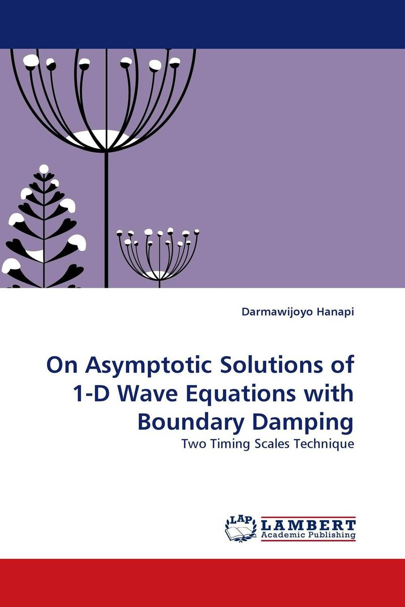 On Asymptotic Solutions of 1-D Wave Equations with Boundary Damping