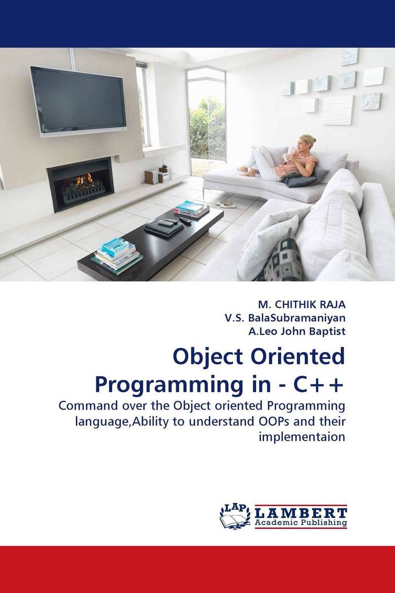 Object Oriented Programming in - C++ neal goldstein objective c programming for dummies