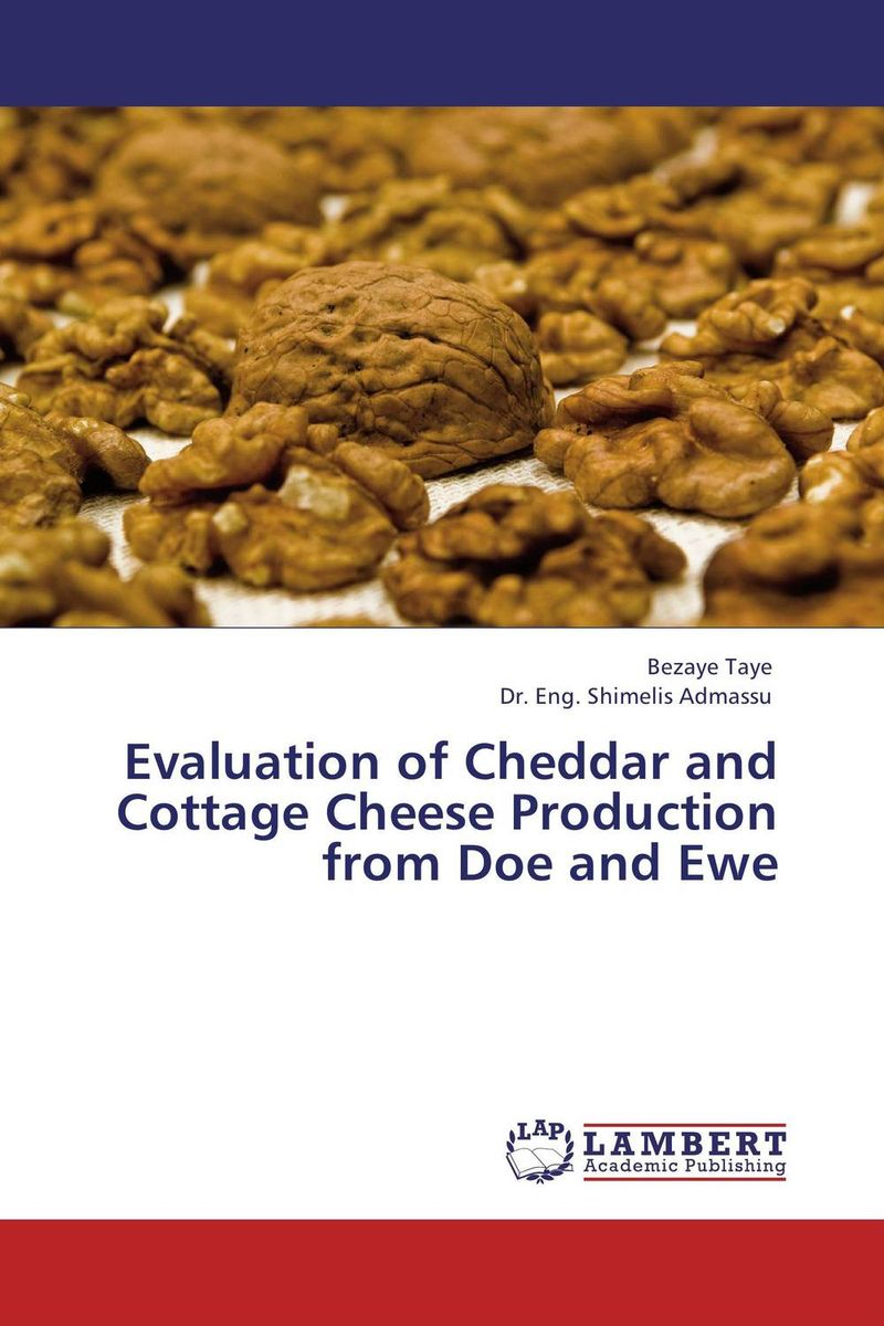 Evaluation of Cheddar and Cottage Cheese Production from Doe and Ewe production utilization and marketing of milk and milk products