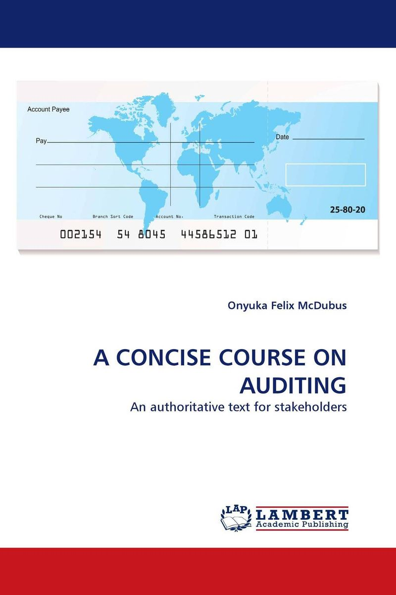 A CONCISE COURSE ON AUDITING