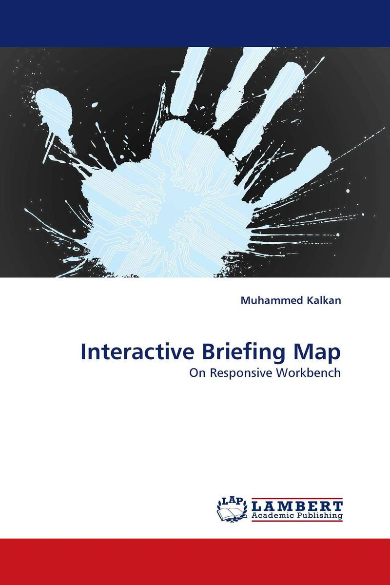Interactive Briefing Map method and system for multidimensional data visualization
