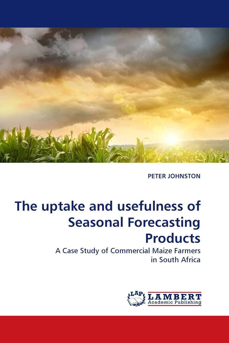 The uptake and usefulness of Seasonal Forecasting Products kondratieff waves cycles crises and forecasts