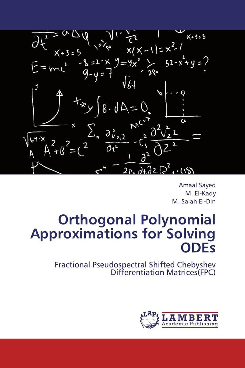Orthogonal Polynomial Approximations for Solving ODEs