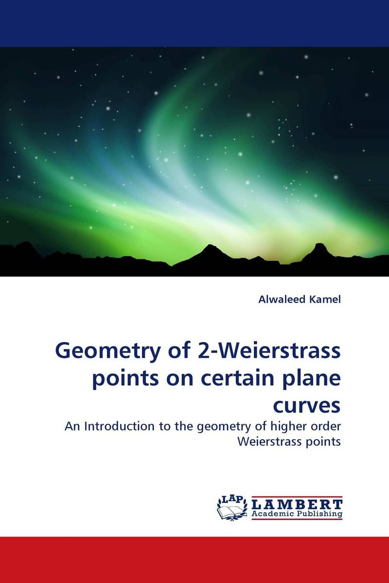 Geometry of 2-Weierstrass points on certain plane curves c alexander london we give a squid a wedgie