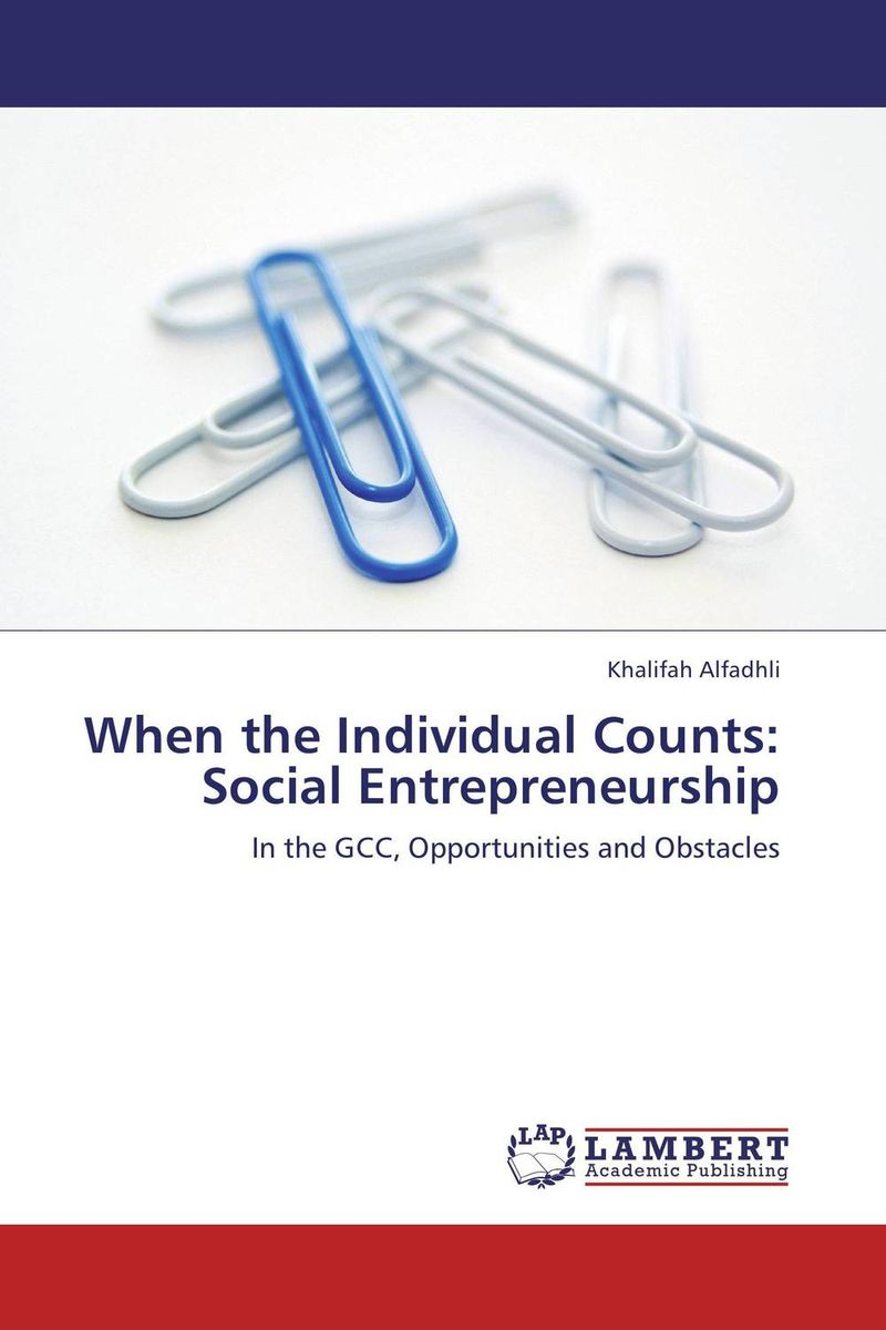 When the Individual Counts: Social Entrepreneurship material change design thinking and the social entrepreneurship movement