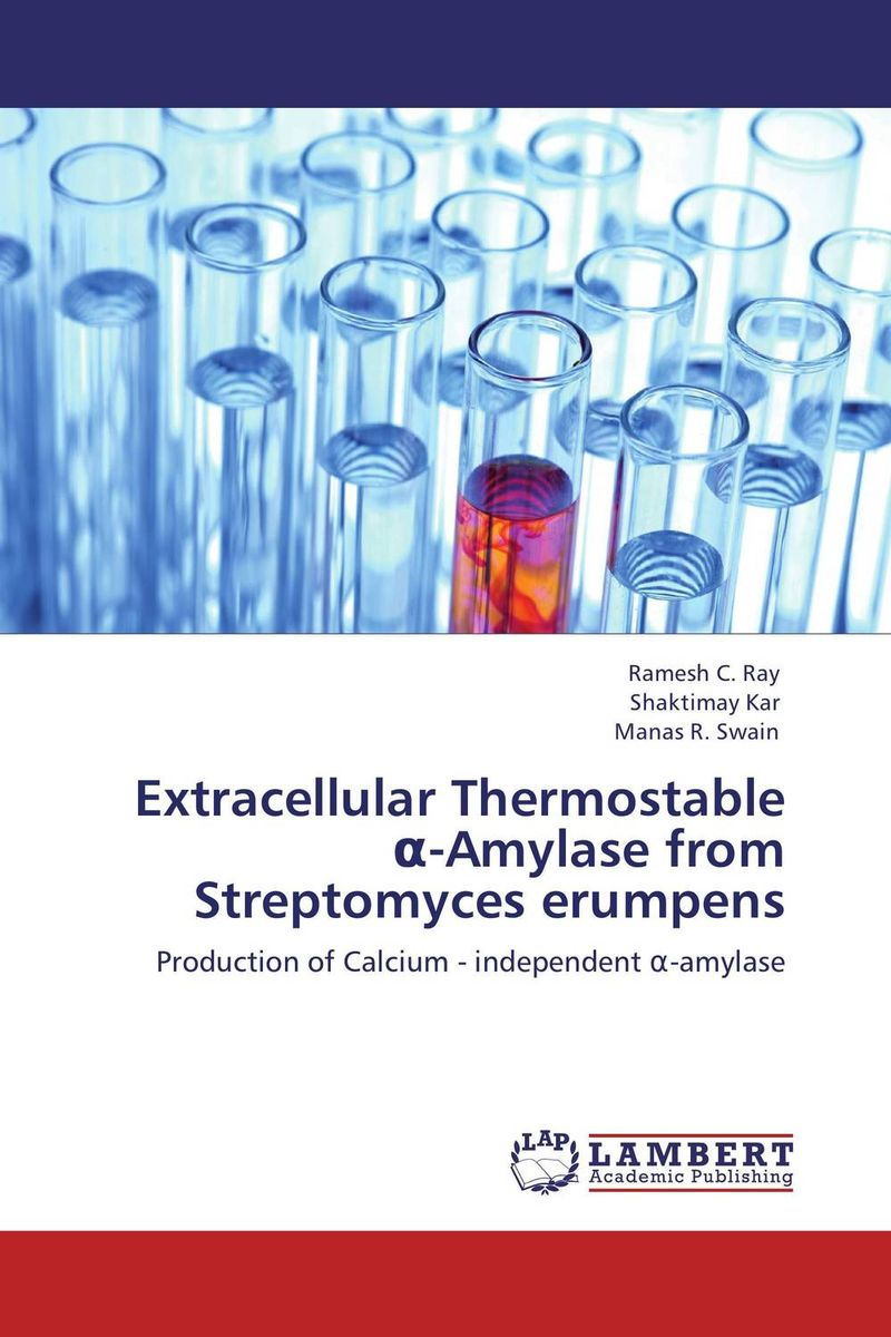 Extracellular Thermostable ?-Amylase  from Streptomyces erumpens microbial production of amylase in bacillus cereus sp