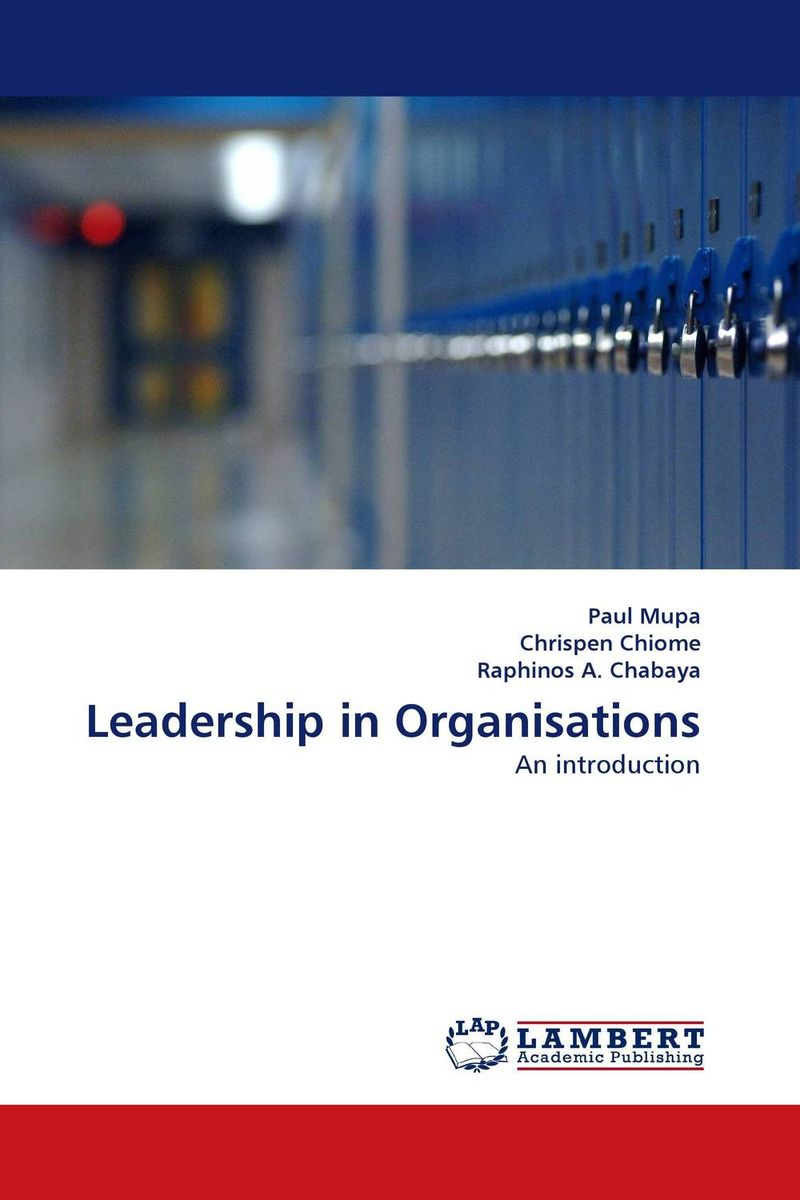 Leadership in Organisations role of school leadership in promoting moral integrity among students