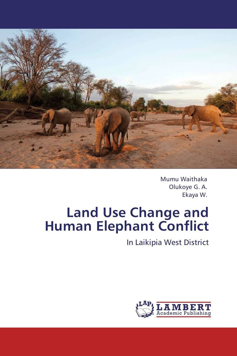 Land Use Change and Human Elephant Conflict change from a human perspective