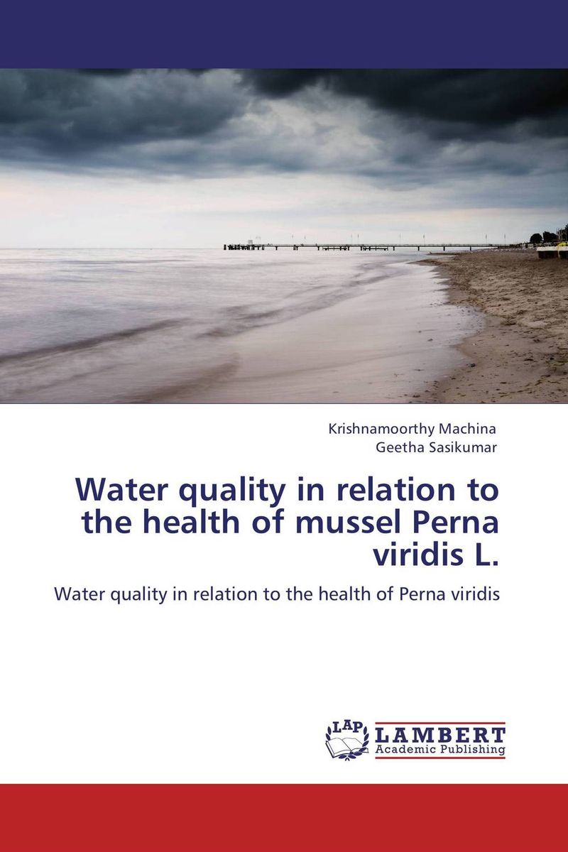 Water quality in relation to the health of mussel Perna viridis L. bride of the water god v 3