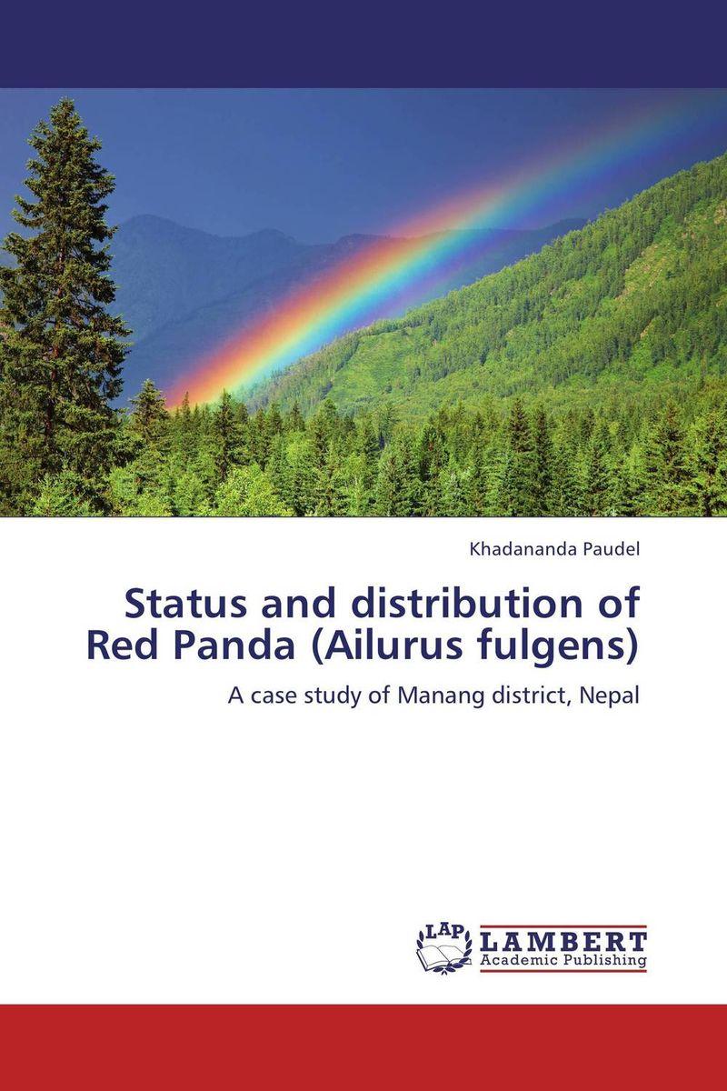 Status and distribution of Red Panda (Ailurus fulgens) status and distribution of red panda ailurus fulgens