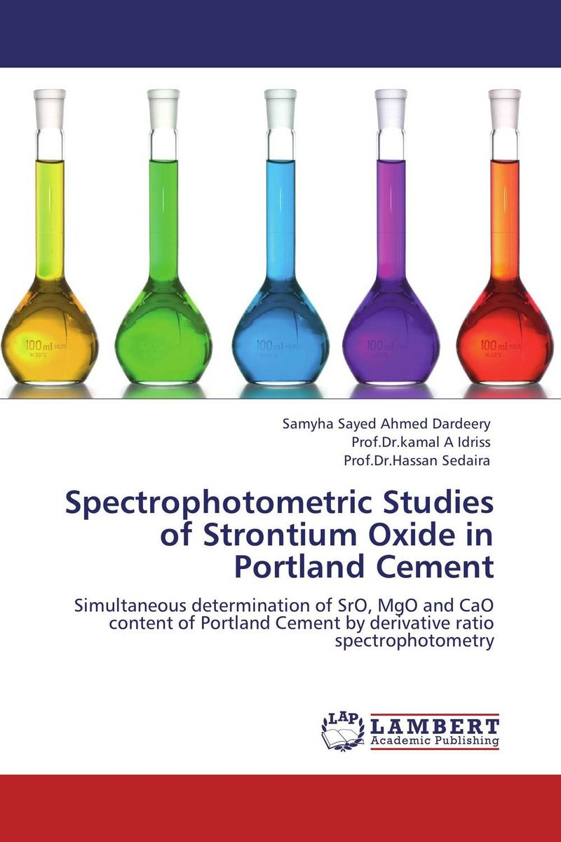 Spectrophotometric Studies of Strontium Oxide in Portland Cement lifetimes of excitons in cuprous oxide