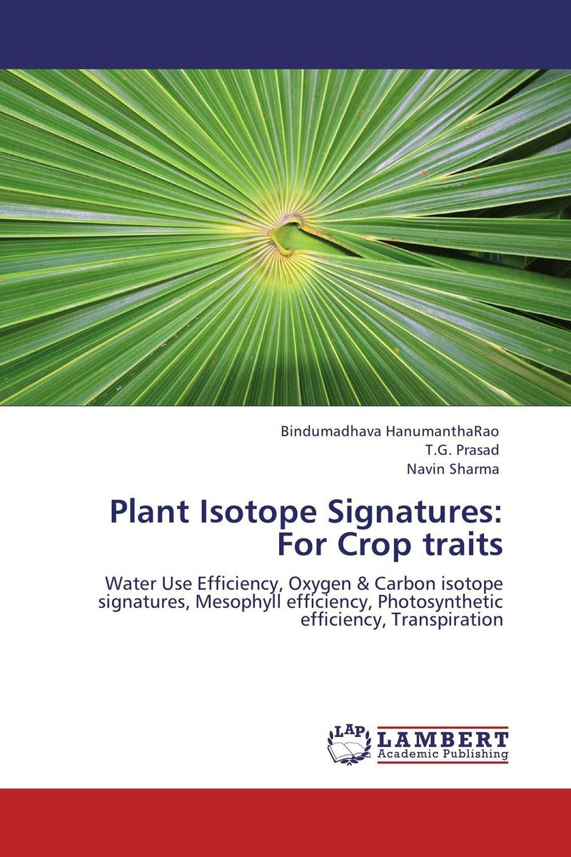 Plant Isotope Signatures: For Crop traits thermo operated water valves can be used in food processing equipments biomass boilers and hydraulic systems