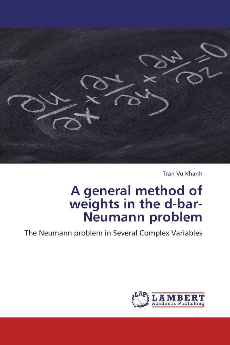 A general method of weights in the d-bar-Neumann problem cuhaj g standard catalog of world paper money general issues 1368 1960