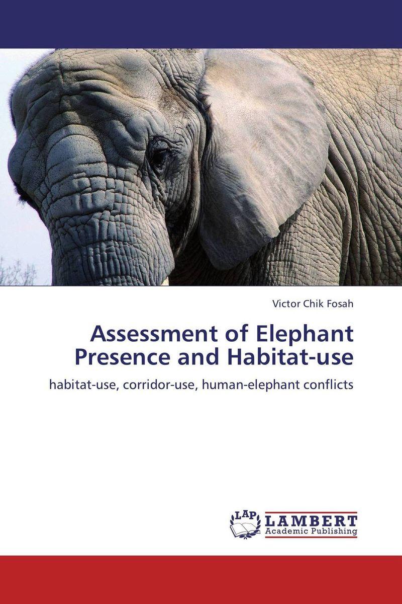 Assessment of Elephant Presence and Habitat-use сандалии ella ella el023awebc09