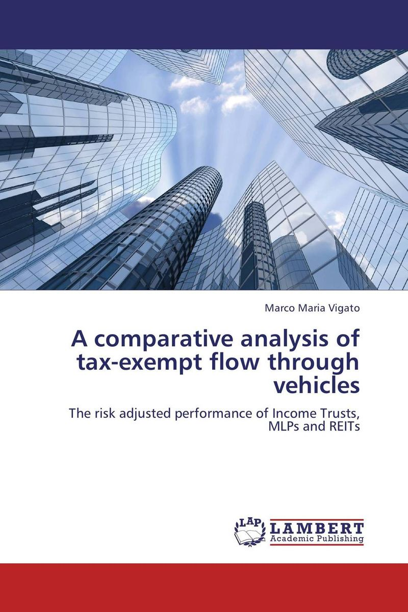 A comparative analysis of tax-exempt flow through vehicles risk analysis study of maritime traffic