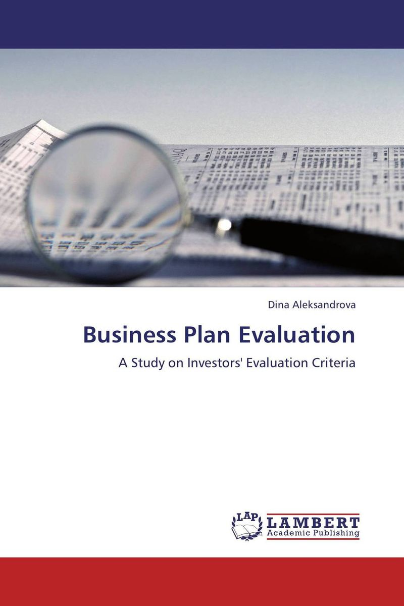 Business Plan Evaluation venture to the interior