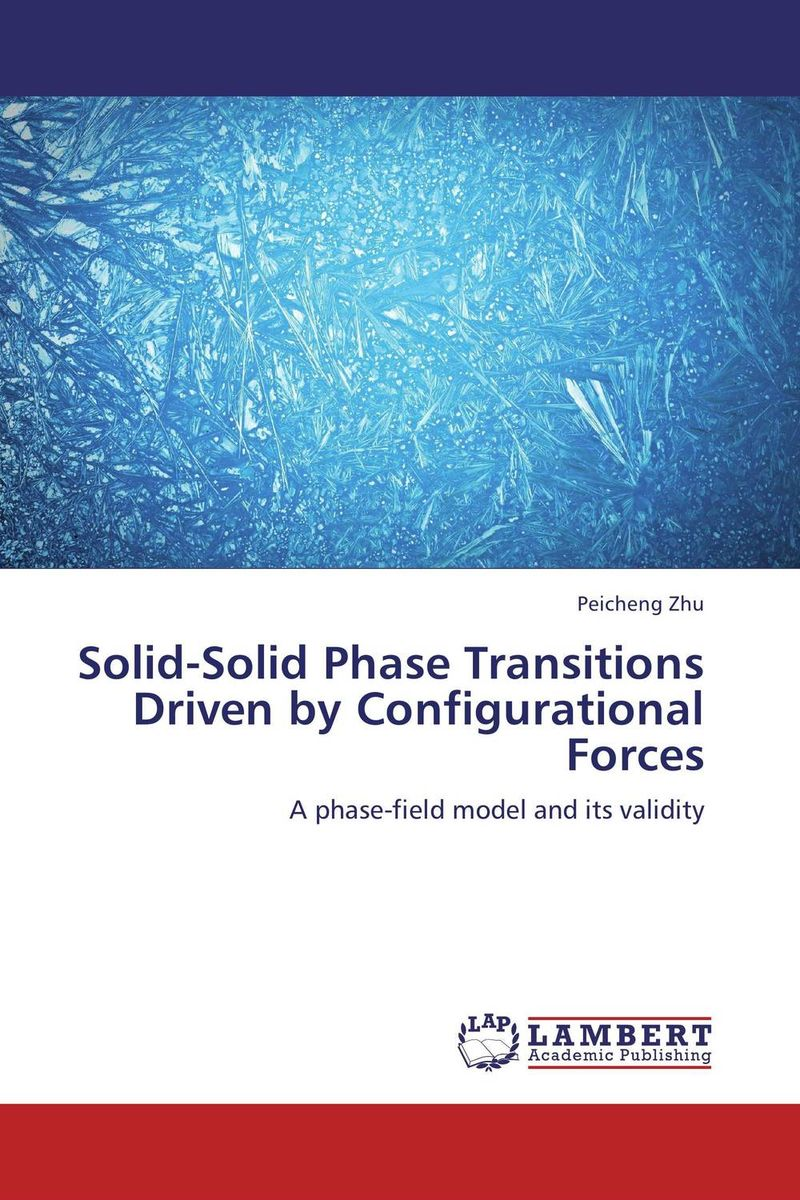 Solid-Solid Phase Transitions Driven by Configurational Forces