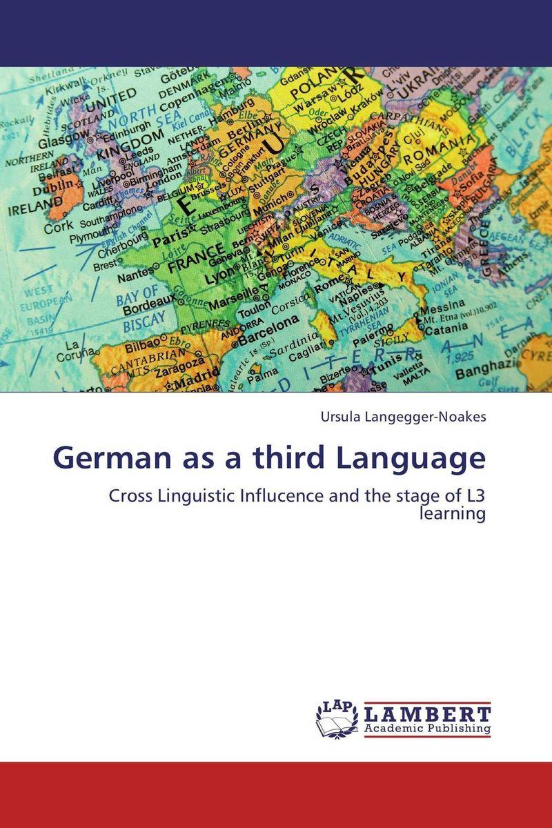 German as a third Language english language and bilingualism