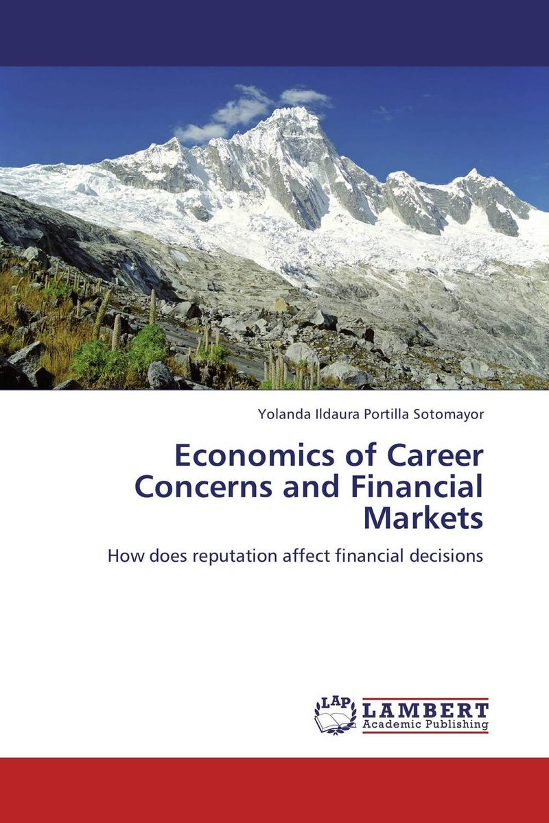 Economics of Career Concerns and Financial Markets critical information assets disaster management audit model