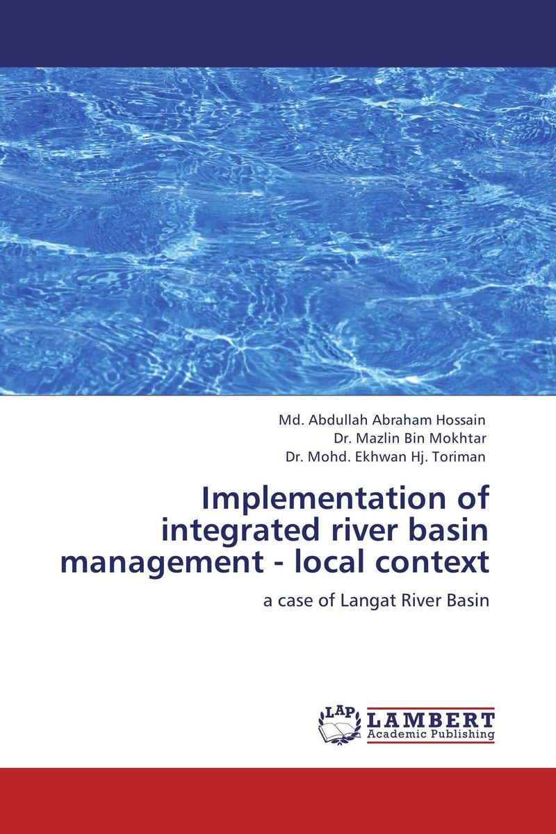Implementation of integrated river basin management - local context planning for development of water resources of maner river