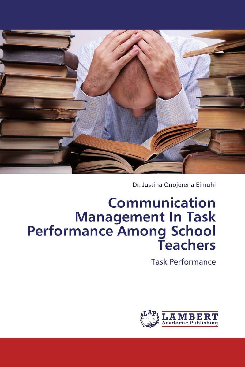 Communication Management In Task Performance Among School Teachers helloween keeper on the seven keys the legacy world tour 2005 2006 2 dvd