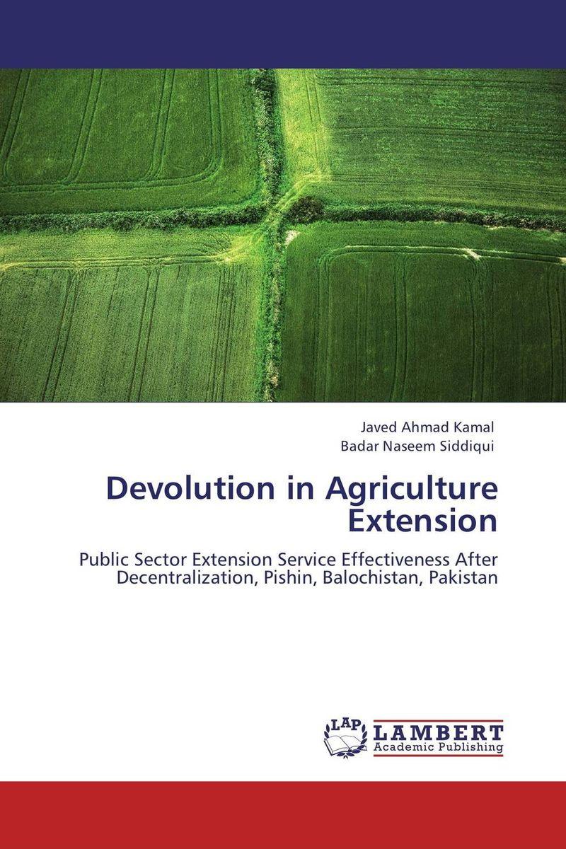 Devolution in Agriculture Extension цена и фото