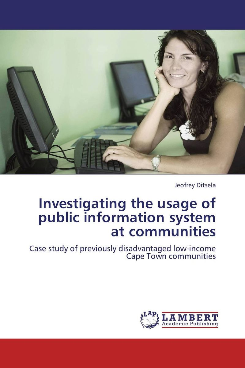 Investigating the usage of public information system at communities