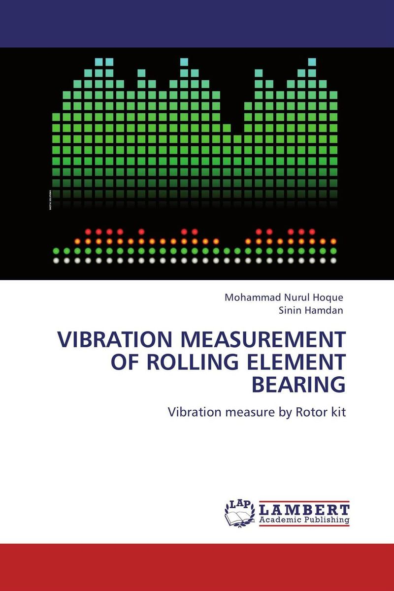 VIBRATION MEASUREMENT OF ROLLING ELEMENT BEARING 9656 early simple machines set