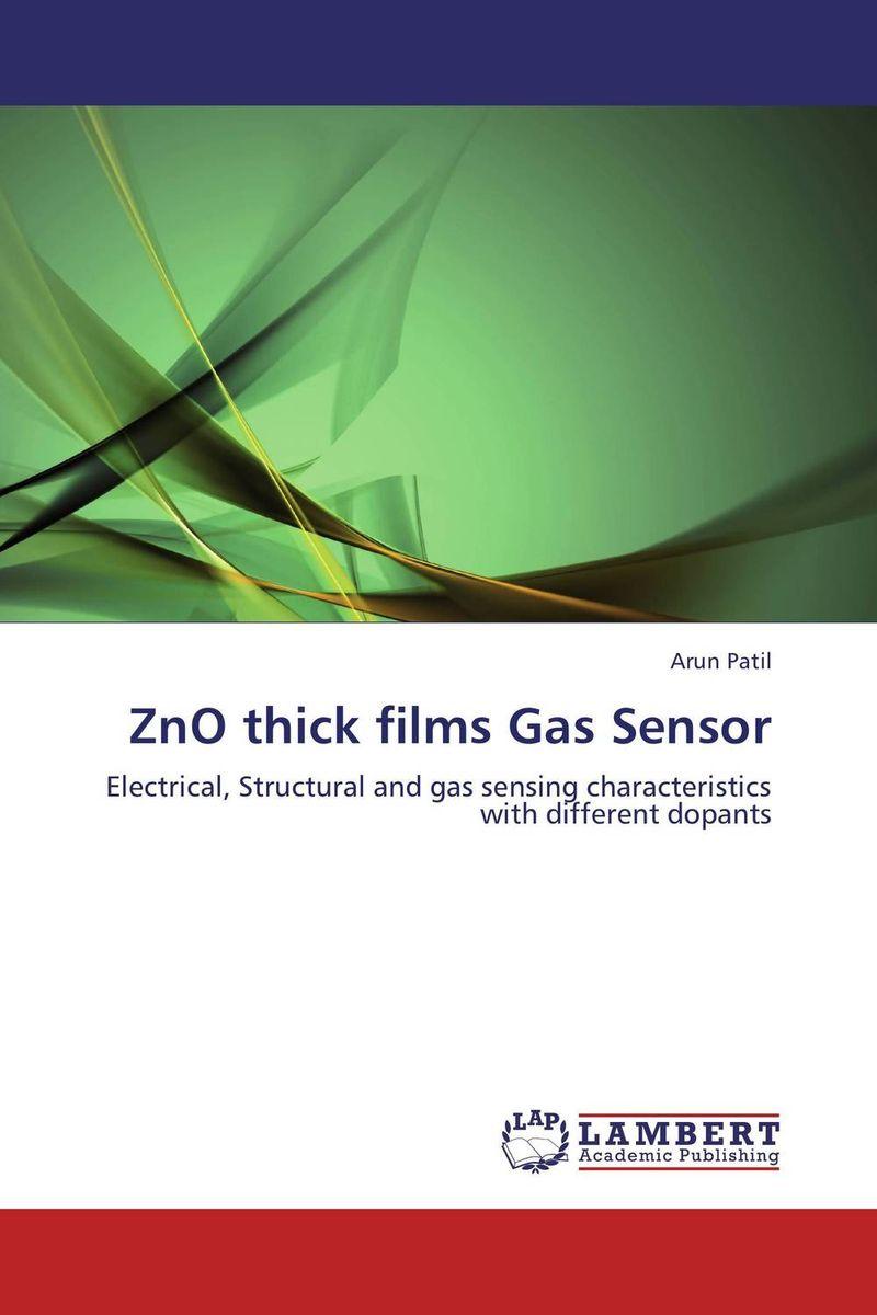 ZnO thick films Gas Sensor