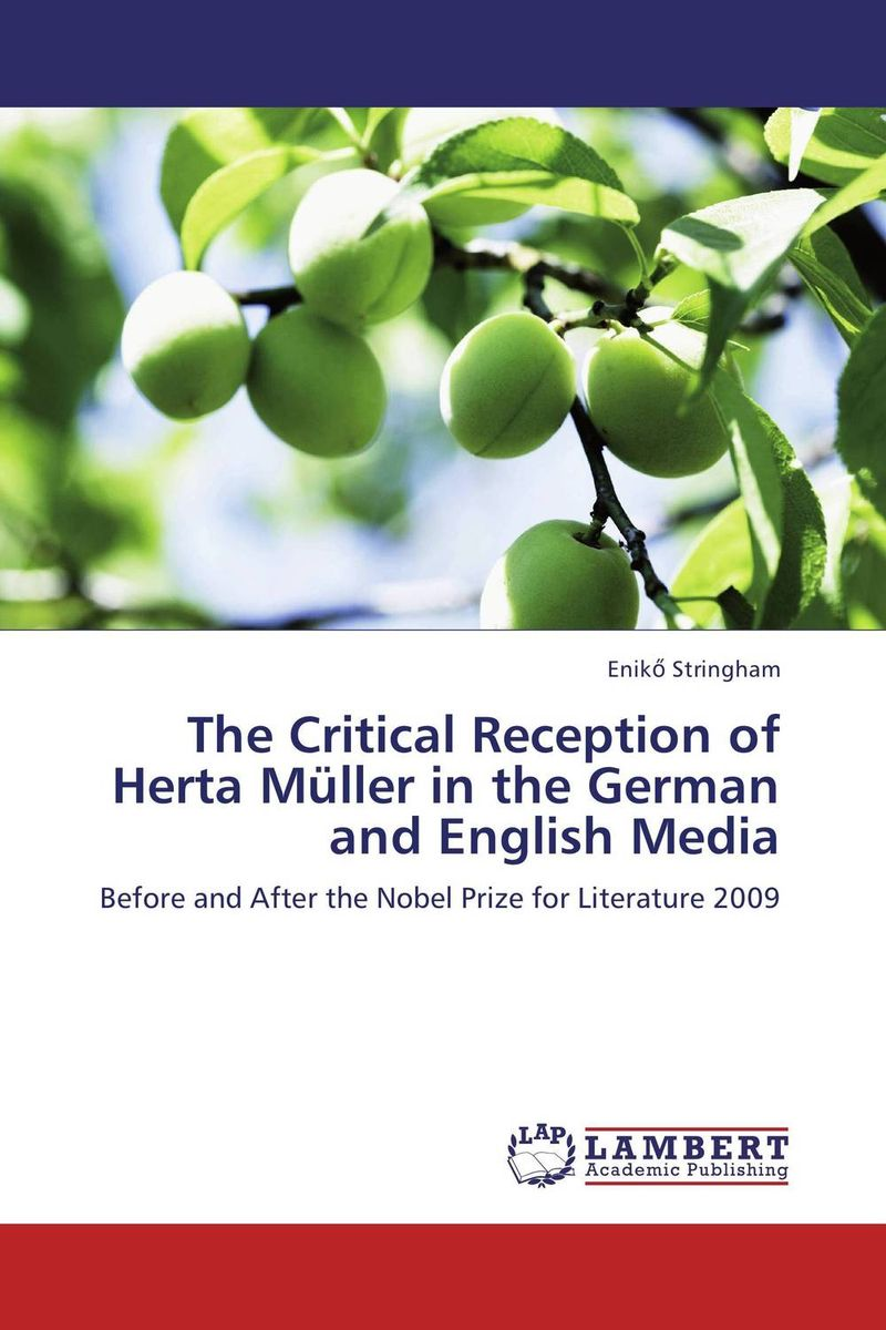 The Critical Reception of Herta Muller in the German and English Media muller of yoshio kubo футболка