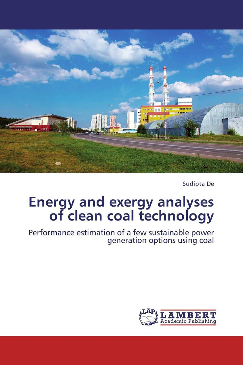 цена на Energy and exergy analyses of clean coal technology