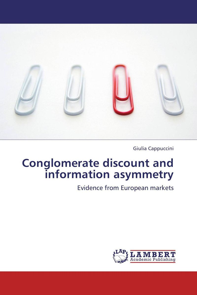 все цены на Conglomerate discount and information asymmetry