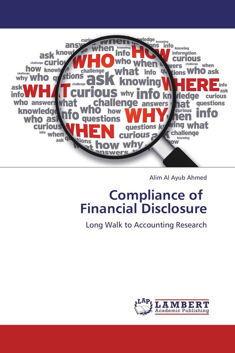 Compliance of Financial Disclosure inventory accounting
