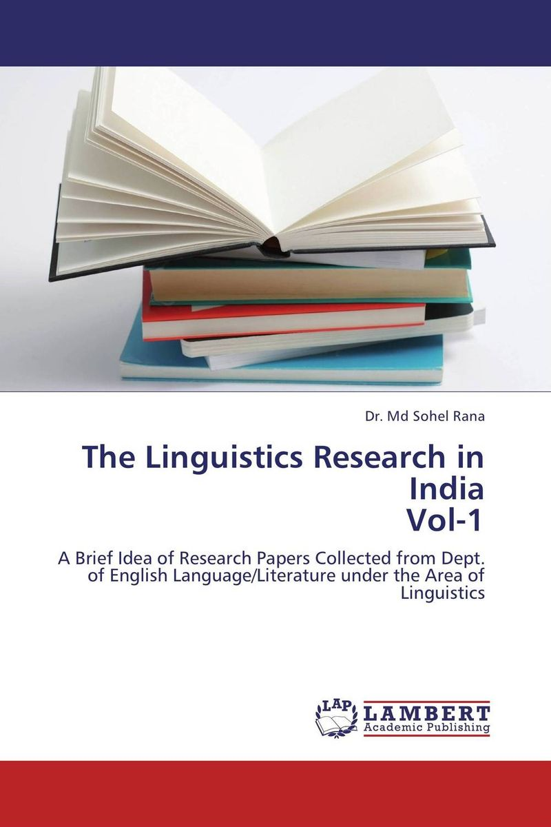 The Linguistics Research in India Vol-1